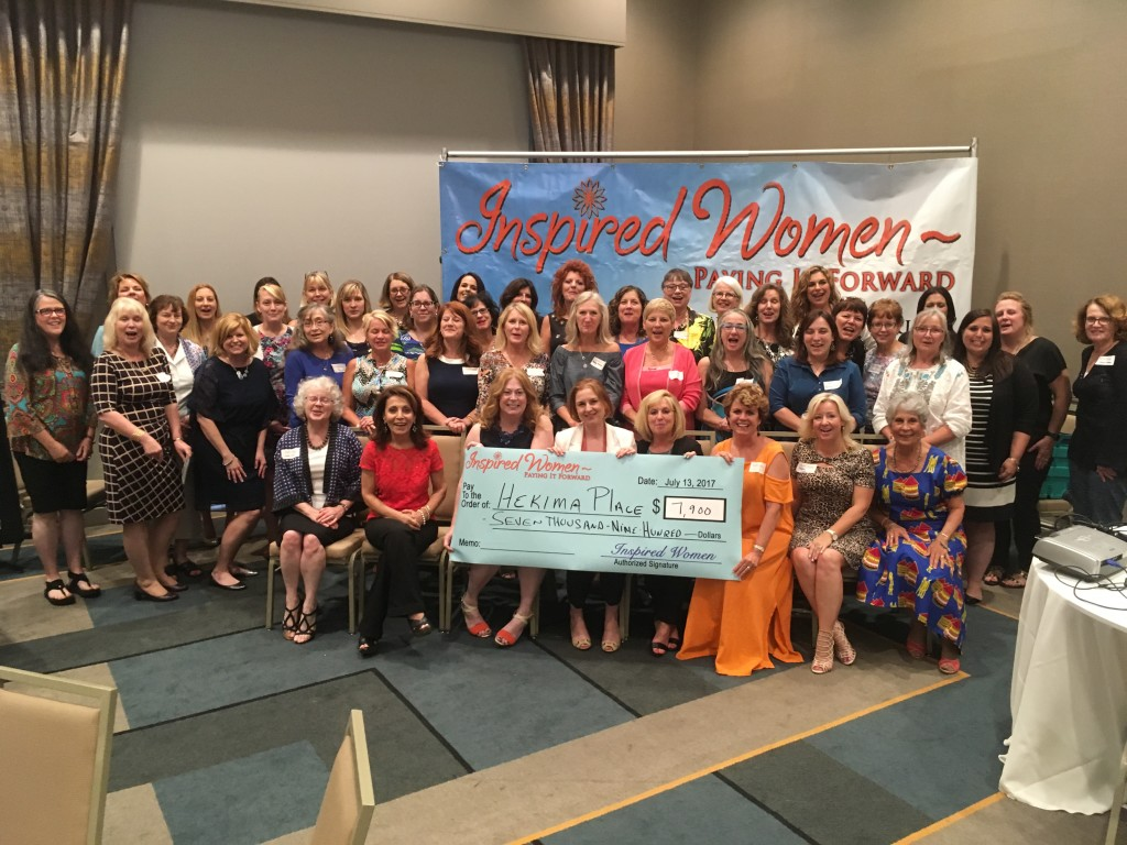 Inspired Women July 2017 Recpient HEKEMA PLACE